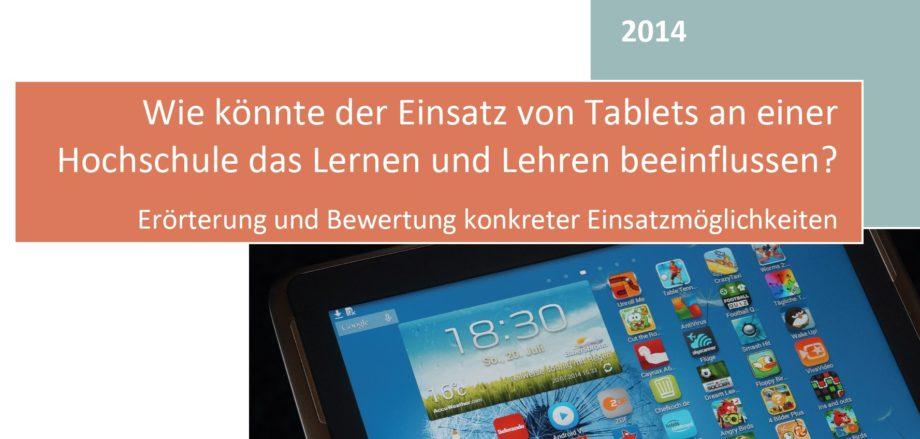 Lernen und Lehren mit Tablets