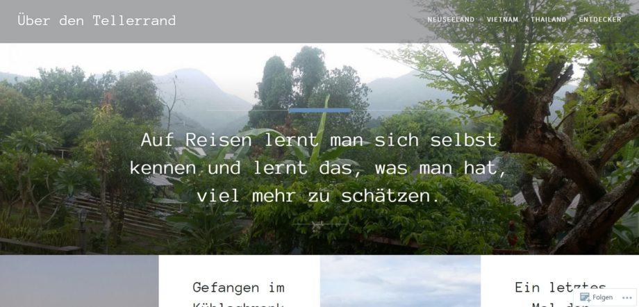 Reiseblog: Erlebnisse teilen